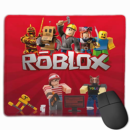 xiaoxiaoshen Robloxs Mouse Pad Rectangular Non-Slip Gaming Mouse Pad, Suitable for Office and Home Use 12 X 9.8 Inches
