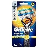 Foto Gillette Fusion Proglide Power Flexball Rasoio da Uomo, 1 Manico + 1 Lametta, 5 Lame di Precisione, Compatibile con Tutte le Testine di Ricambio Fusion Power