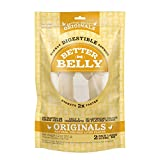 Better Belly Chicken Liver Rawhide Large Dog Bones, 2-Count