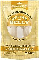 Save on Better Belly Chicken Liver Rawhide Large Dog Bones, 2-Count