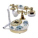 Festnetzanschluss, Retro Vintage Antik-Telefon Und Büro-Dekoration, In Zwei Farben Erhältlich...