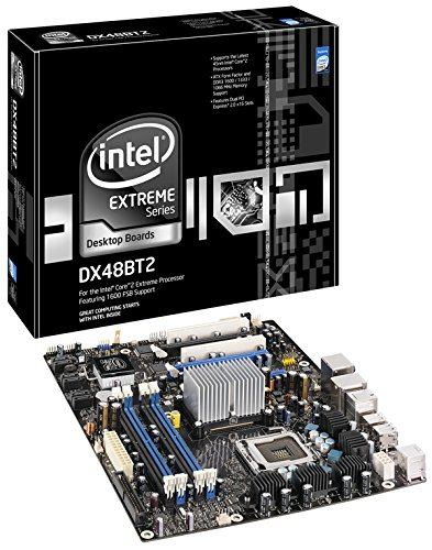 Intel Desktop Board DX48BT2 Motherboard LGA 775 (Socket T) ATX - Motherboards, LGA 775 (Socket T), Pentium® Dualcore, 8 GB, DDR3-SDRAM, DIMM