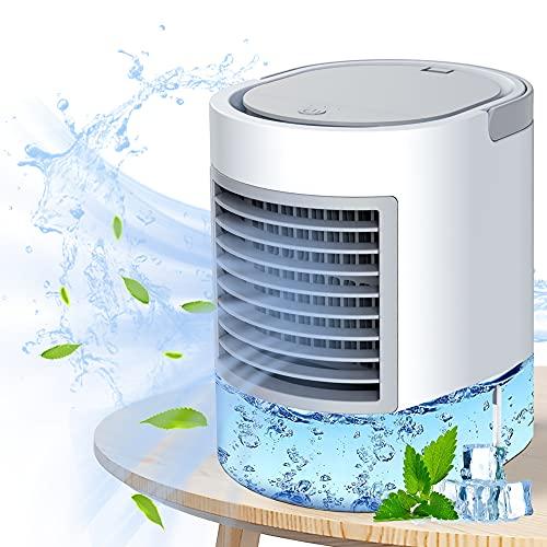 mobile klimagerät mobile klimaanlage kleine klimaanlage Tragbarer Kühler, schnelle und einfache Möglichkeit zur Kühlung des persönlichen Raums, geeignet für Bett, Büro und Arbeitszimmer.