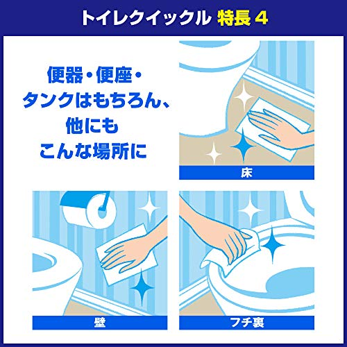 【まとめ買い】トイレクイックルつめかえ用ジャンボパック20枚×3個