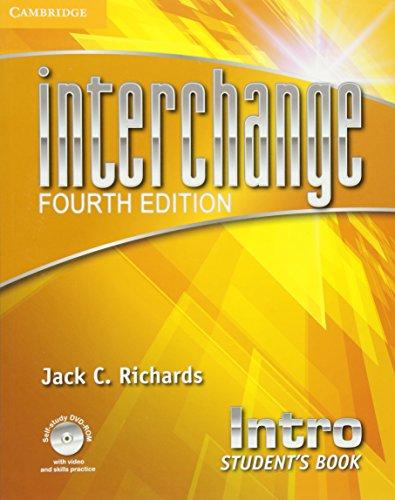 Interchange Intro Student's Book with Self-Study DVD-ROM