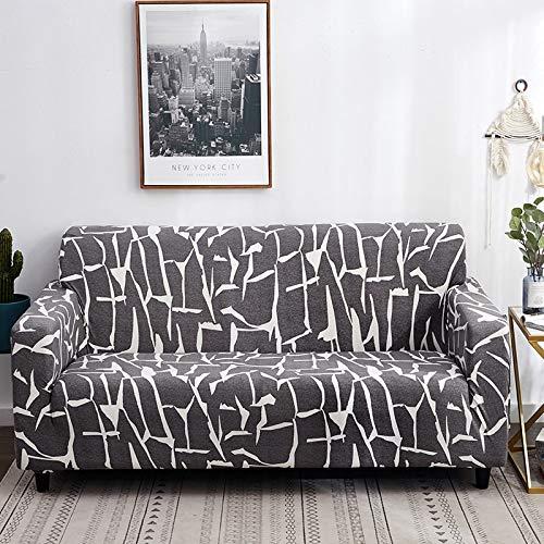 Fundas de sofá elásticas con Estampado Floral para Sala de Estar, Toalla de sofá, Funda de sofá Antideslizante, Funda de sofá elástica A13, 4 plazas