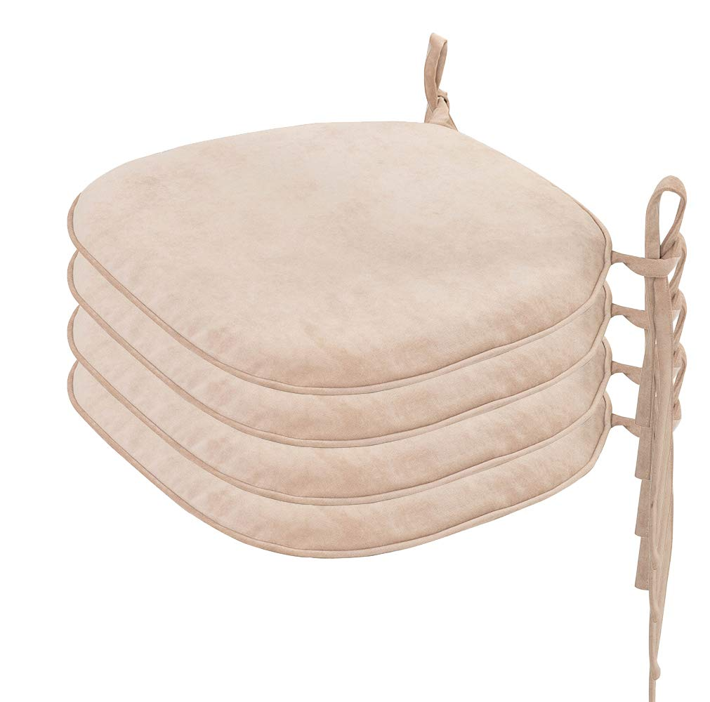 Indoor Chair Cushions With Ties Chair Pads Amp Cushions