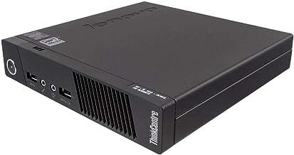 Lenovo ThinkCentre M93P Tiny Desktop, Intel Core i5-4570T, 8GB RAM, 256GB SSD, Windows 10 Pro 64-bit (Renewed)