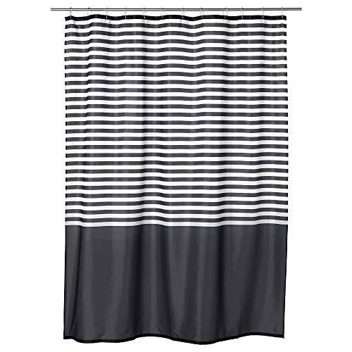 IKEA.. 303.490.65 Vadsjön Shower Curtain, Dark Gray
