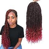 Goddess Senegalese Twist Crochet Hair 18 Inch Goddess Senegalese Twist...