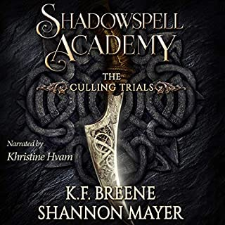 Shadowspell Academy: The Culling Trials: Book 1 cover art