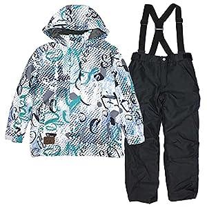 COSBY(コスビー) スキーウェア csb3220 キッズ ジュニア 男の子 子供 スノーウェア ホワイト 140cm