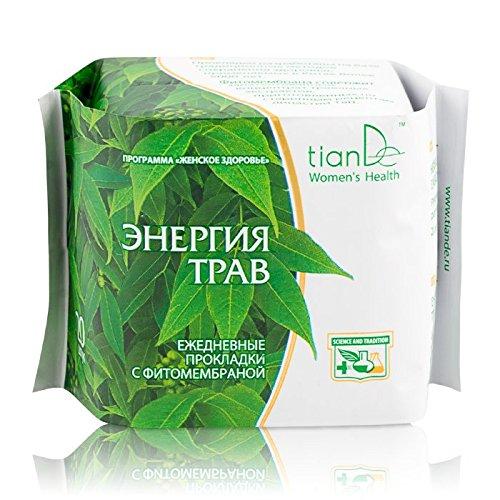 Compresas diarias «Energía hierbas» TIANDE 61901