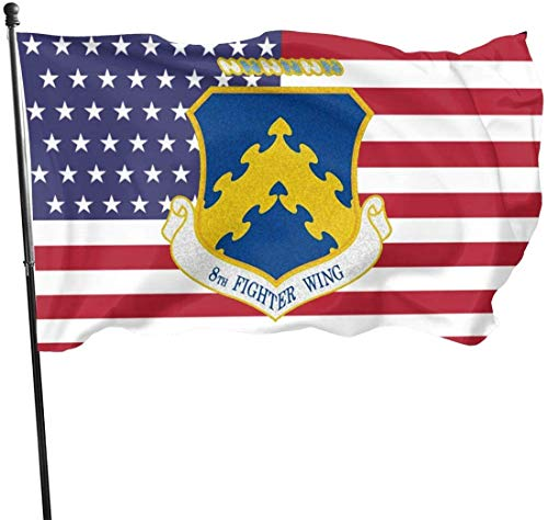 anemone store Amerikanische Fly Breeze 3x5 Fuß Flagge - Air 8th Fighter Wing