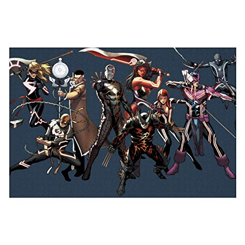 Wooden Jigsaw Puzzles Adults, Iron Man Captain America Spiderman (6), Challenge and Fun, for Teens Kids, 500 pcs