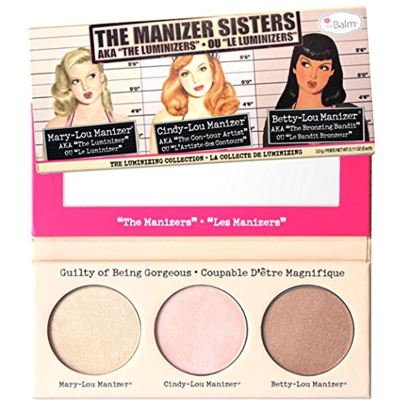薬局陰気怠けたThebalm Themanizer Sisters Luminizers Palette (並行輸入品) [並行輸入品]
