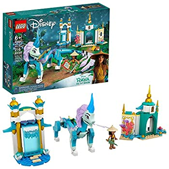LEGO Disney Raya and Sisu Dragon 43184  A Unique Toy and Building Kit  Best for Kids Who Like Stories with Dragons and Adventuring with Strong Disney Characters New 2021  216 Pieces