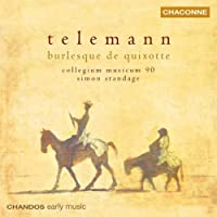 Telemann: Ouverture in G Major / Burlesque de Quixotte / Ouverture in B minor / Concerto in D Major (2003-09-23)