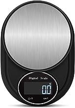 Huishouden keuken LCD Scale High Precision 5KG / 0.1g Bakken Eten digitale weegschaal voedsel digitale schaal roestvrij staal
