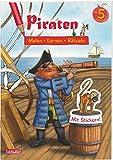 Piraten: Malen Lernen Rätseln: Mit Stickern!