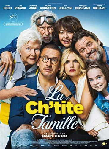 CINEMA / La Ch'tite Famille - 2018 - De Dany Boon avec Laurence Arné, François Berléand, Guy Lecluyse, Line Renaud, Valérie Benneton, Pierre Richard - 40x60cm - Affiche Originale
