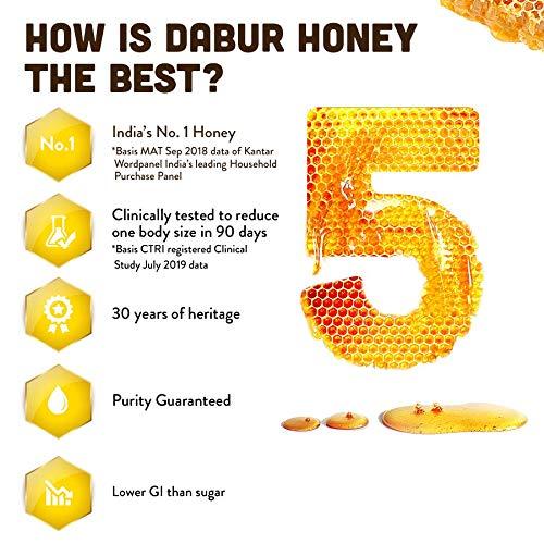 Dabur Honey - World's No.1 Honey Brand - 250 gm(Get 30 % Extra )