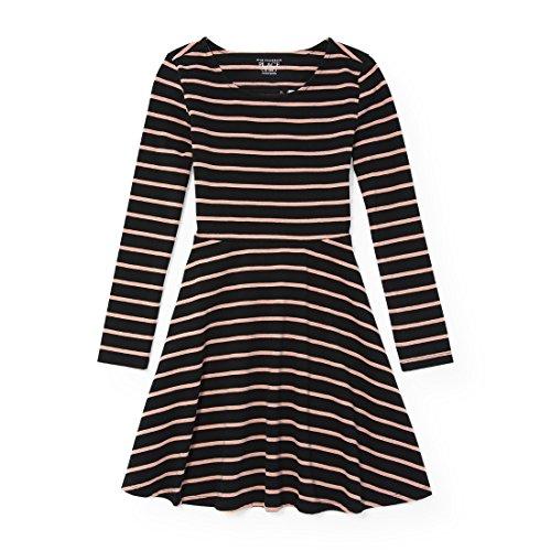 The Children's Place Big Girls' Sleeveless Dressy Dresses, Black 12 90737, XXL(16)