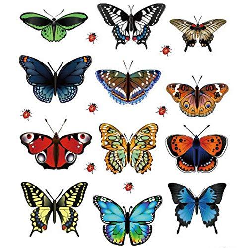 Creatieve vogels vliegenvanger muursticker huis slaapkamer woonkamer modern tattoo kunst decoratie vinyl venster muursticker augustus 10