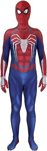 promociones emocionantes KAHONG Disfraces De Superhéroe Spiderman Spiderman Spiderman Impresión Digital 3D Juego De rol De Anime Medias Siamesas Cosplay Fiesta De Disfraces Cosplay Fiesta,rojo(Adult)-XXXL  la calidad primero los consumidores primero