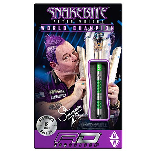 Red Dragon Peter Wright Snakebite Mamba Softdarts - 5