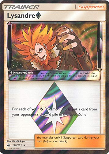 Lysandre Prism Star - 110/131 - Holo Rare - Forbidden Light