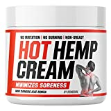 Hot Неmp Cream - Arthritis, Carpal Tunnel, Inflammation, Back, Foot, Nerve, Joint, Muscle, Neck Раin, Natural Stress Relief - MSM, Turmeric, Aloe, Arnica - Warming Topical Salve