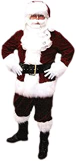 Velveteen Santa Claus Suit Adult - XX-Large