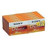 Sony DVM60PR miniDV Videocassette (60 min) 10er Pack -