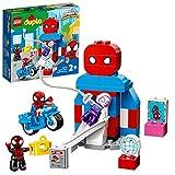 LEGO DUPLO Marvel Super Heroes Il Quartier Generale di Spider-Man, Set Giocattoli con Supereroi per Bambini di 2 Anni, 10940