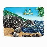 3D Sanya Hainan China Kühlschrankmagnet, Home und Kitchen Dekoration magnetischen Aufkleber Sanya Hainan China Kühlschrank Magnet Tourist Souvenir Geschenk