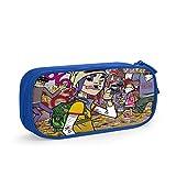 VCKTU354OI Kids Banx_Gori 3D Printing School Pencil Case Pen Bag Pouch for Boys Blue