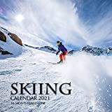 Skiing Calendar 2021: 16 Month Calendar