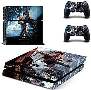 Shooter game PS4 Console and DualShock 4 Controller Skin Set by Mr Wonderful Skin - PlayStation 4 Vinyl