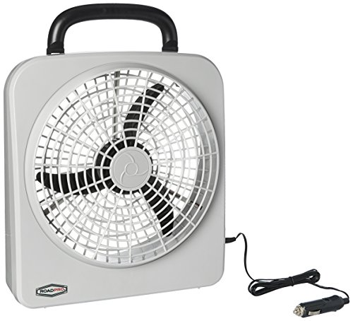 "RoadPro RP8000 10"" Indoor/Outdoor Dual Power Fan"