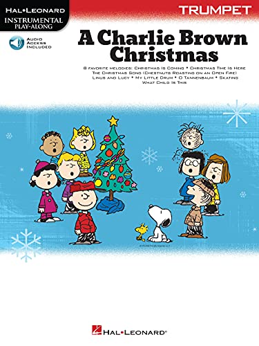 A Charlie Brown Christmas - Instrumental Play-Along: Trumpet Book with Online Audio (English Edition)