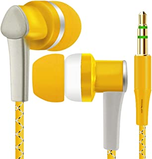 Huphoon Universal 1.2M 3.5mm in-Ear Stereo Earbuds Earphone for Cellphone Mp4