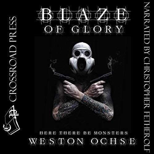 Blaze of Glory audiobook cover art