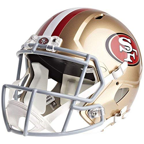 Riddell San Francisco 49ers Officially Licensed Speed Full Size Replica Football Helmet