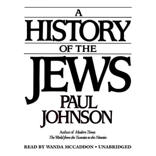 A History of the Jews audiobook cover art