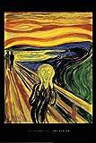 Close Up Edvard Munch The Scream Poster Der Schrei (61cm x