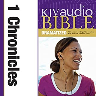 Dramatized Audio Bible - King James Version, KJV: (12) 1 Chronicles audiobook cover art