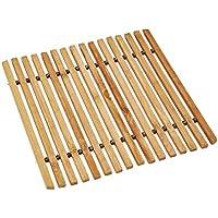 Excellent Salvamantel, Bamboo, Bambú, 17 x 17 x 2 cm
