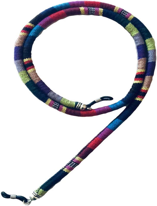 Palaash Unisex Eyewear Retainer, Sunglass Holder, Universal Eyeglass Chain, Fashion Cotton Lanyard (Keewi)