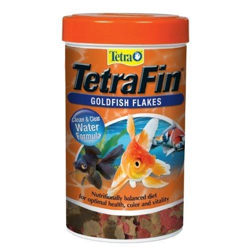 Tetra 77126 Tetra Fin Goldfish Flakes, 1.00 oz, 185 ml by Tetra (English Manual)